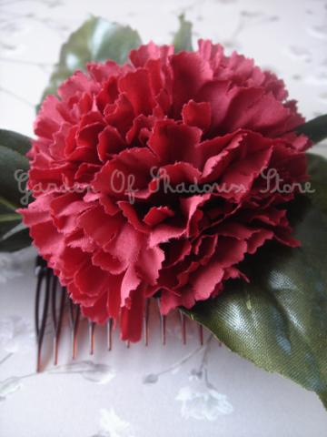 Ruby Diana Flower Comb (limited quantities)