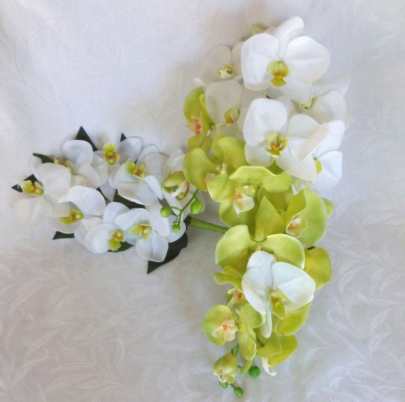 Cascade Orchid Bridal Bouquet :