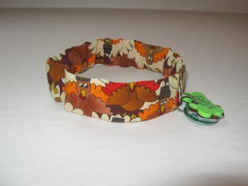 Thanksgiving Pet Collar Slipcover