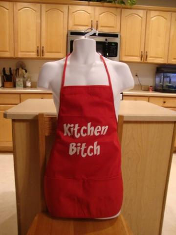 Kitchen Bitch Custom Apron