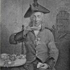 1884 MW Sharp Victorian Engraving, 'The Chelsea Pensioner'