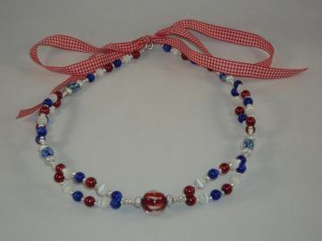 Patriotic jeweled headband