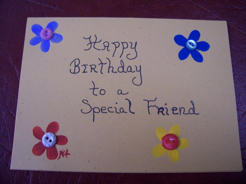 how to make handmade friendship cards