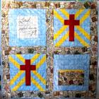 Joyful Dance Prayer Quilt