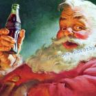 Santa Suggests A Cold Coke 1952  Coca Cola Advertisement