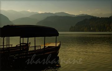 "Serene dreams ... 5 x 7"" (approx) fine art photographic print - Lake Bled, Slovenia"