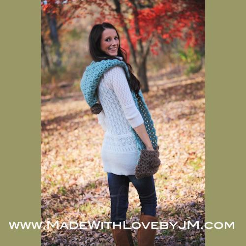 Crochet Hip Pattern Scarf ? Crochet Patterns Books