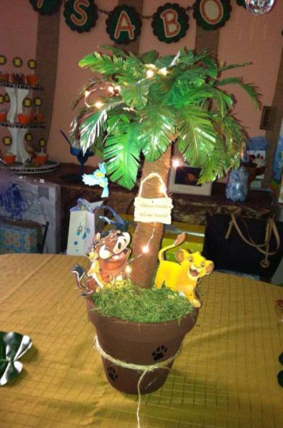 the lion king centerpieces baby shower decoration birthday