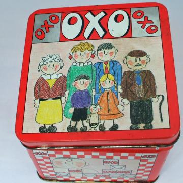 Vintage OXO tin Graphic Design Award Winner from 1986
