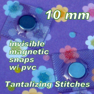 100 hidden magnetic snaps 10 mm