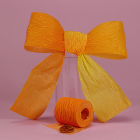 1 1/2 Paper Ribbon - Yellow Orange Ombre