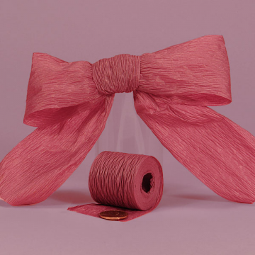 1 1/2 Paper Ribbon - Burgandy