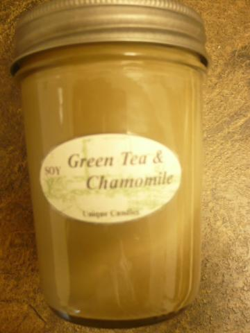 Soy Candle Green Tea & Chamomile