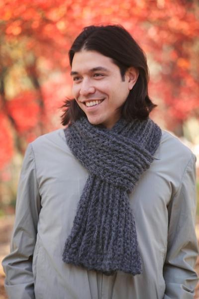 Skull Scarf Crochet Pattern | AllFreeCrochet.com