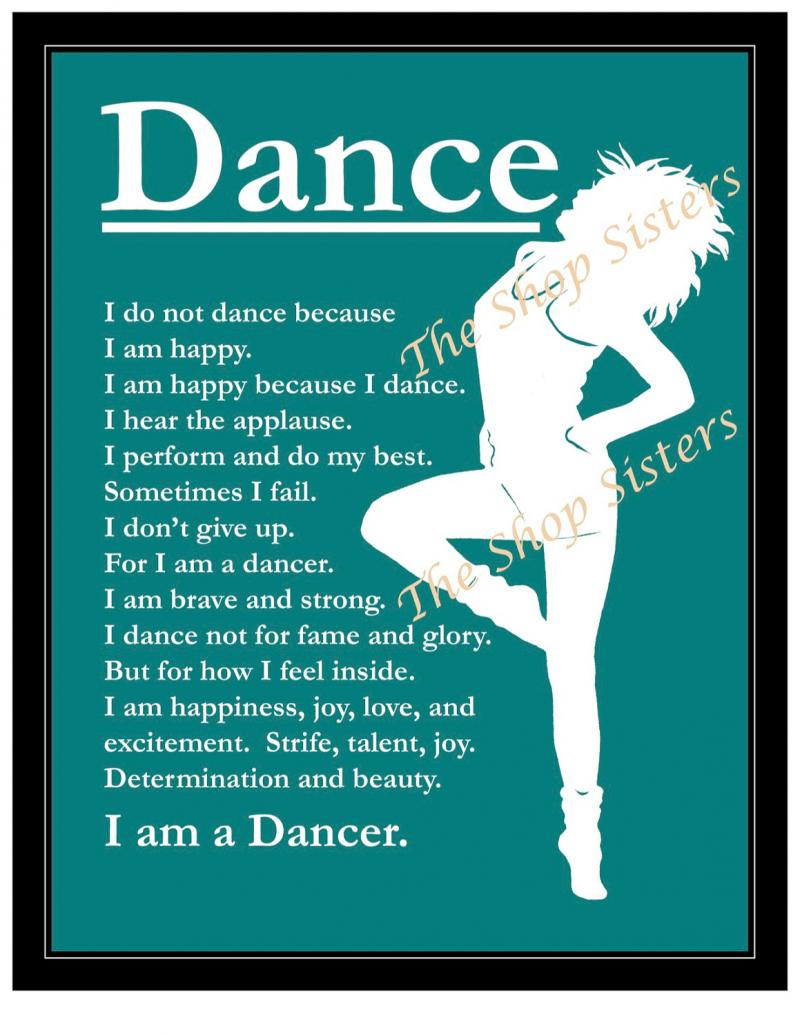 why i dance Dancing burns lots of calories but dance also comes with other health benefits  like better mood, less anxiety and a sharper brain.