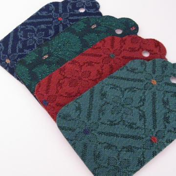 Large Gift Tags in Green Red and Blue