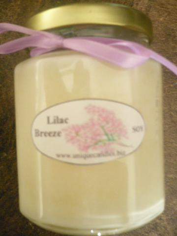 Lilac Breeze _ Soy Candle