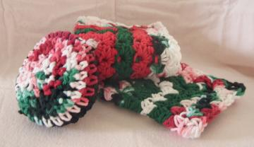 Dish Rags, Soft Scrubbie Combo (Festive-A)