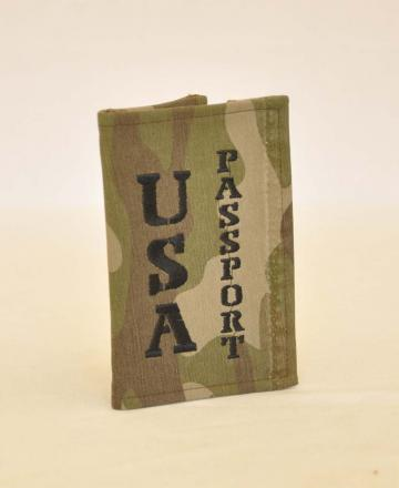 Eco Passport Cover Camo
