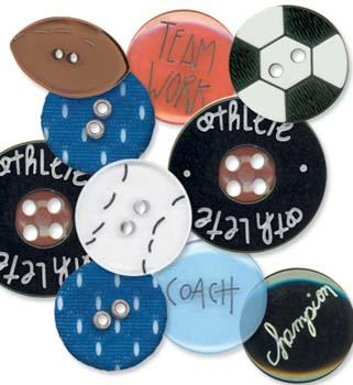 Junkitz Buttons - Sports