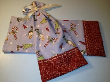 Gift Bags / Snowmen  / Primitive Country Christmas