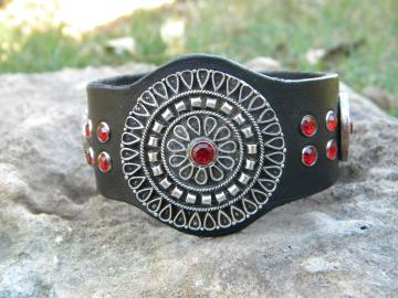 Triple Medallion Cuff
