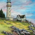 Atlantic Coast Lighthouse