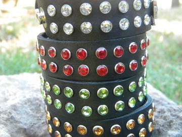 Double Row Rhinestone Cuff