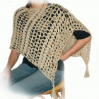 PDF Pattern Easy Crochet Poncho