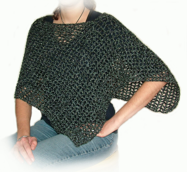 Easy Crochet Patterns Poncho Original Patterns LONG HAIRSTYLES