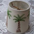 Palm Tree Welcome Candle Shade