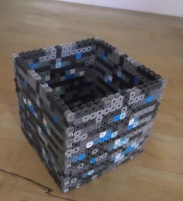 Minecraft Diamond Ore Pencil Box