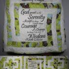 Serenity Prayer Labyrinth Prayer Shawl
