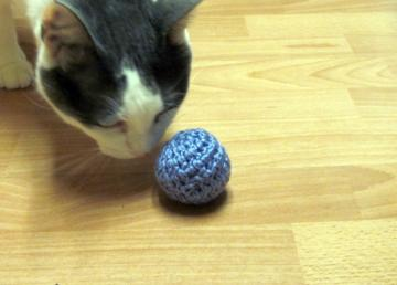 Crinkle Cat Toy Ball- Assorted set of 3
