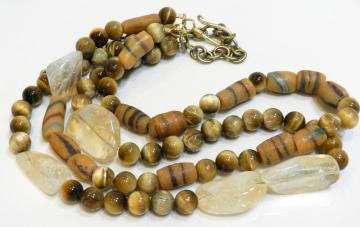 tiger eye citrine african