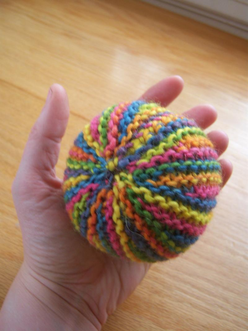 Knitting Patterns For Toy Balls : #
