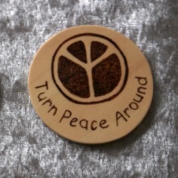 Wooden magnet by Breath of the Dragon on Zibbet