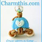 Polymer Clay Cinderella's Carriage Charm