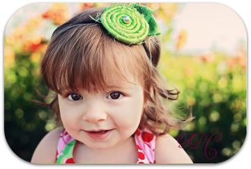 Lime Green Nakea Headwrap. Headband