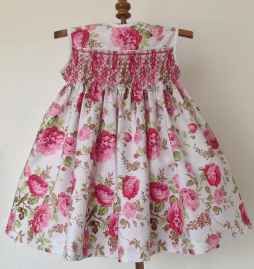 Size 2 Hand smocked girls dress