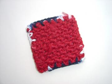 Red Crochet Kitchen Scrubbie