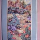"Southwest Vista, Needlepoint Kit 8""x 16"" BEAUTIFUL!"