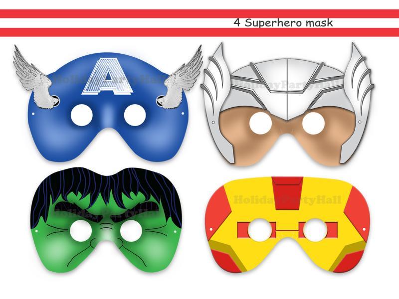 Маска супергерой