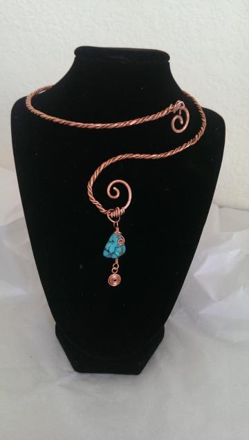 Twisted Charms necklace by Azteca Designs Boutique