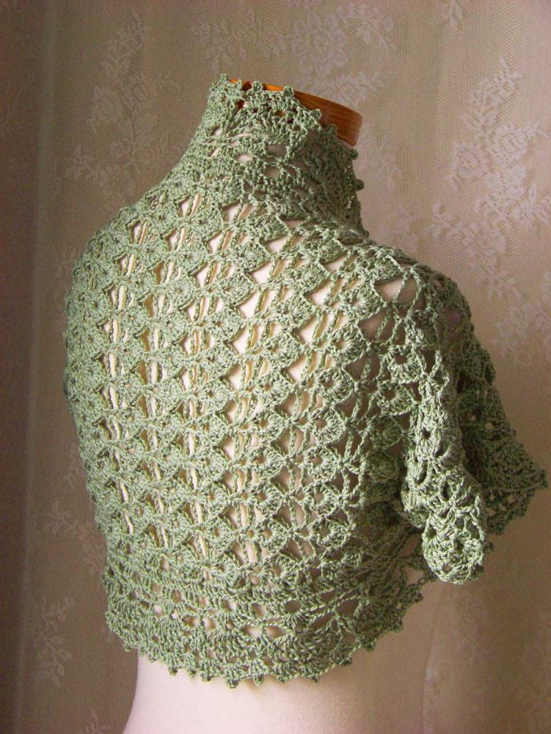 Crochet Bolero Pattern : home images crochet pattern short sleeved shrug pdf crochet pattern ...