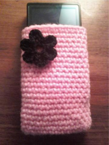 Crochet iPod, Zune, Phone Case