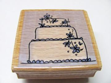 Brand New Cake Rubber Stamps