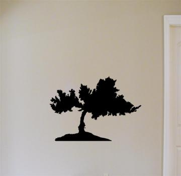 Wall Vinyl Bonsai Tree
