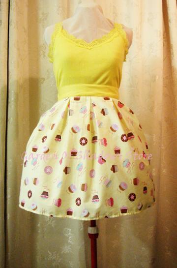 Dulcinea Cupcake Lolita Skirt (LIMITED)