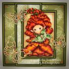Snapdragon Sprite Handmade Greeting Card